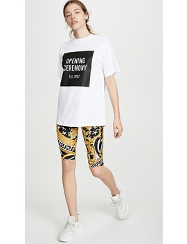Box Logo Tee by Opening Ceremony