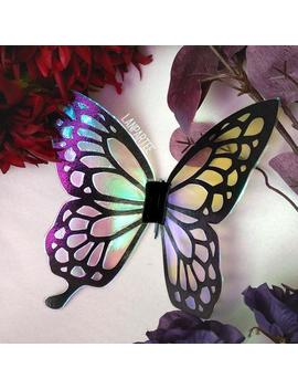 Iridescent Translucent Butterfly Wings Accessory Kimetsu No Yaiba by Etsy