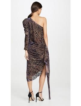 One Shoulder Drape Dress by Giuseppe Di Morabito