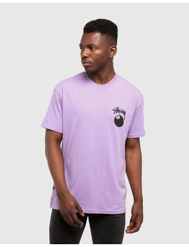 Stussy 8 Ball Tee Lilac by Stussy