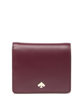 Nadine Small Leather Bi Fold Wallet by Kate Spade New York