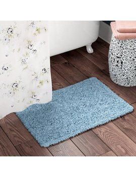Eastcotts 100% Cotton Chenille Shaggy Spray Latex Back Bath Rug by Winston Porter
