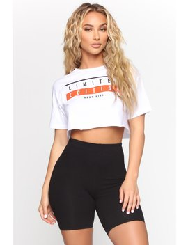 Limited Edition Baby Girl Top   White by Fashion Nova