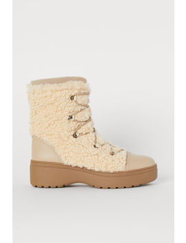Pile Boots by H&M