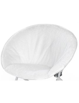 American Kids Long Hair Faux Fur Kids Saucer Chair, Multiple Colors by American Kids Bedding