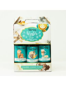 Jordan's Skinny Syrups™ 3 Pack 750 M L Winter Trio Assorted Syrups by Bed Bath And Beyond