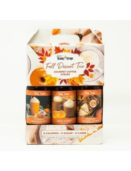Jordan's Skinny Syrups™ 3 Pack 375 M L Fall Dessert Collection Assorted Syrups by Bed Bath And Beyond