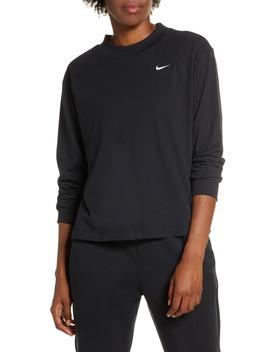 Essential Mock Neck Long Sleeve Tee by Nike