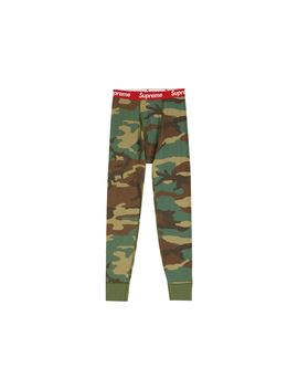 Supreme Hanes Thermal Pant (1 Pack) Fw19 Woodland Camo by Stock X