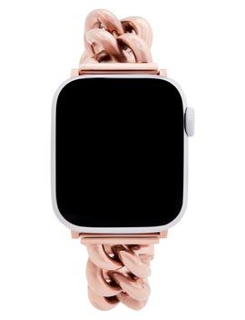 Curb Link Apple Watch® Bracelet by Rebecca Minkoff