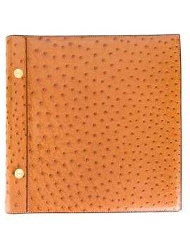 Ostrich Leather Photo Album by Hermès Pre Owned