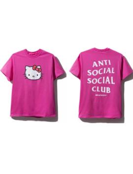 Xl Hello Kitty Tee Assc Anti Social Social Club by Anti Social Social Club  ×