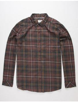 Hurley Vedder Mens Flannel Shirt by Hurley