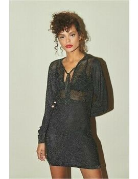 Rouje 'alba' Noir Dress. Size 36. Brand New With Tags. by Rouje