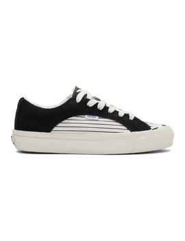 Black & White Og Lampin Lx Sneakers by Vans