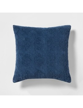 Stonewashed Chenille Throw Pillow   Threshold™ by Shop Collections