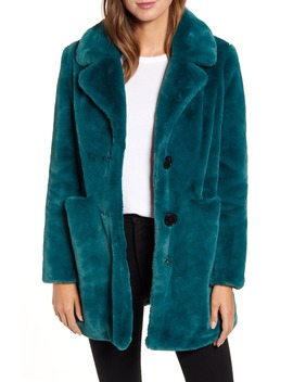 Faux Fur Jacket by Sam Edelman