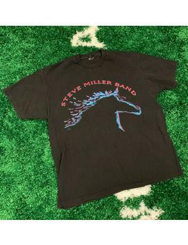 Vintage 90s Steve Miller Band Wide River Tour Shirt 1993 Xl Wonderland Single St by Hanes