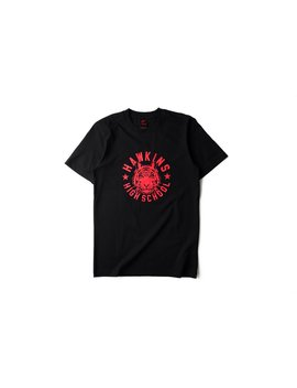 Nike X Stranger Things 'upside Down Collection' Tee   Black/Red by Politics
