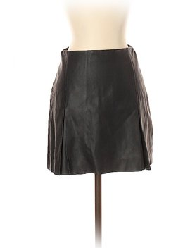 Faux Leather Skirt by Express