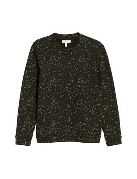 Printed Fleece Sweatshirt by Calibrate