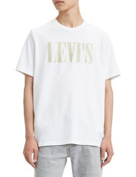 Graphic Logo Cotton Tee by Levi's