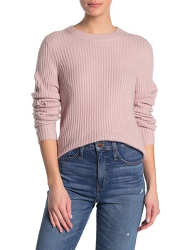 Emily Ribbed Knit Pullover by Madewell