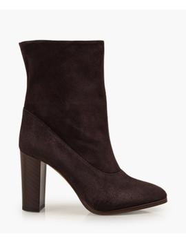 Sappho Shore Brown Suede Boots by Karen Millen