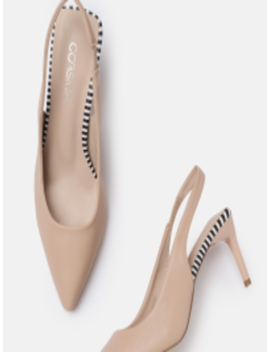 Women Nude Coloured Solid Pumps by Corsica