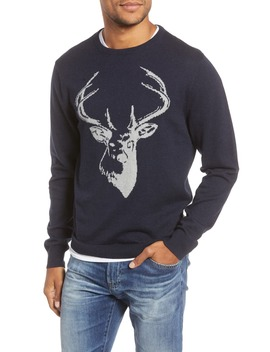 Stag Cotton & Cashmere Sweater by 1901