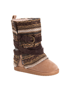 Muk Luks Women's Removable Wrap Mid Calf Boots  Rebecca by Muk Luks