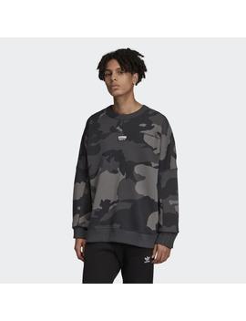 R.Y.V. Camouflage Crewneck Sweatshirt by Adidas