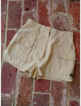 Vintage Shorts, Khaki Tomboy 1970s Mini Shorts, High Waist Shorts Size Small Xs Xxs by Etsy