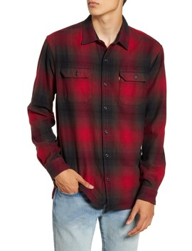 Jackson Slim Fit Check Button Up Flannel Shirt by Levi's
