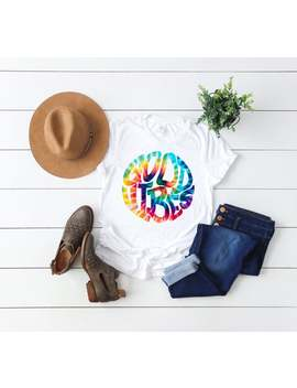 Good Vibes Shirt // Tshirt // Womens Graphic Tee // Summer Shirt // Good Vibes // Throwback Shirt // Retro Tee // Tie Dye // Retro Shirt by Etsy
