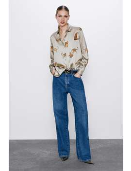 Camicia Fluida Fantasia by Zara