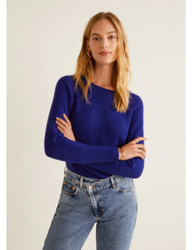 Pull Over Maille En Laine by Mango