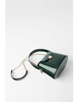Crossbody Box Bag With Handle by Zara