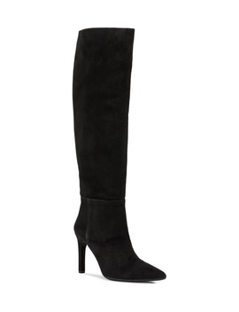 Faviola Suede Knee High Boot by Geox