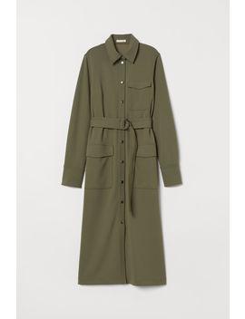 Košilové šaty S Páskem by H&M