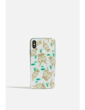 **Otter Case   I Phone Xs Max By Skinnydip by Topshop