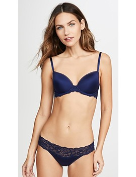 Seductive Comfort Push Up Bra With Lace by Calvin Klein Underwear