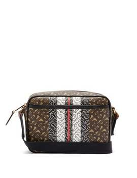 Paddy Tb Canvas Cross Body Bag by Burberry