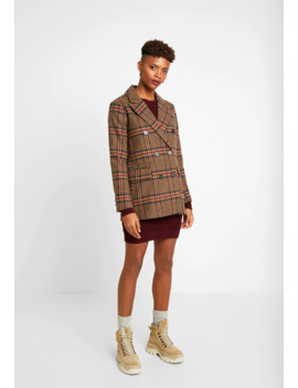 Check   Manteau Court by Warehouse