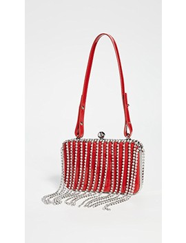 Crystal Fringe Phone Clutch by Area