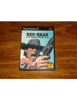 Red Dead Revolver Ps2 (Sony Play Station 2, 2004) by Ebay Seller