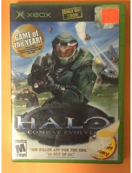 Halo: Combat Evolved (Microsoft Xbox, 2001) by Ebay Seller