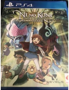 Ni No Kuni: Wrath Of The White Witch  Remastered  (Ps4) Very Good by Ebay Seller
