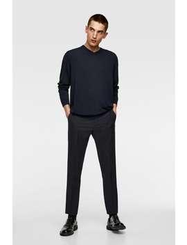 Sweater BÁsica Decote Em V by Zara