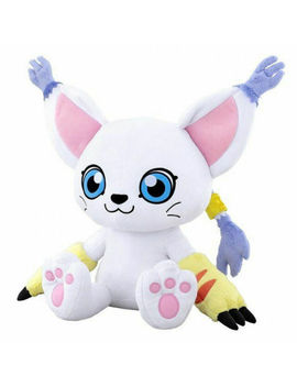 Digimon Digital Monster Tailmon Plush Stuffed Doll Cute Toy Big Toy Doll Gift by Ebay Seller